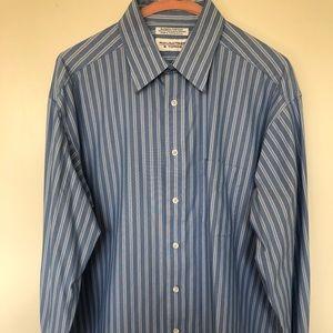Striped Button Down Dress Shirt